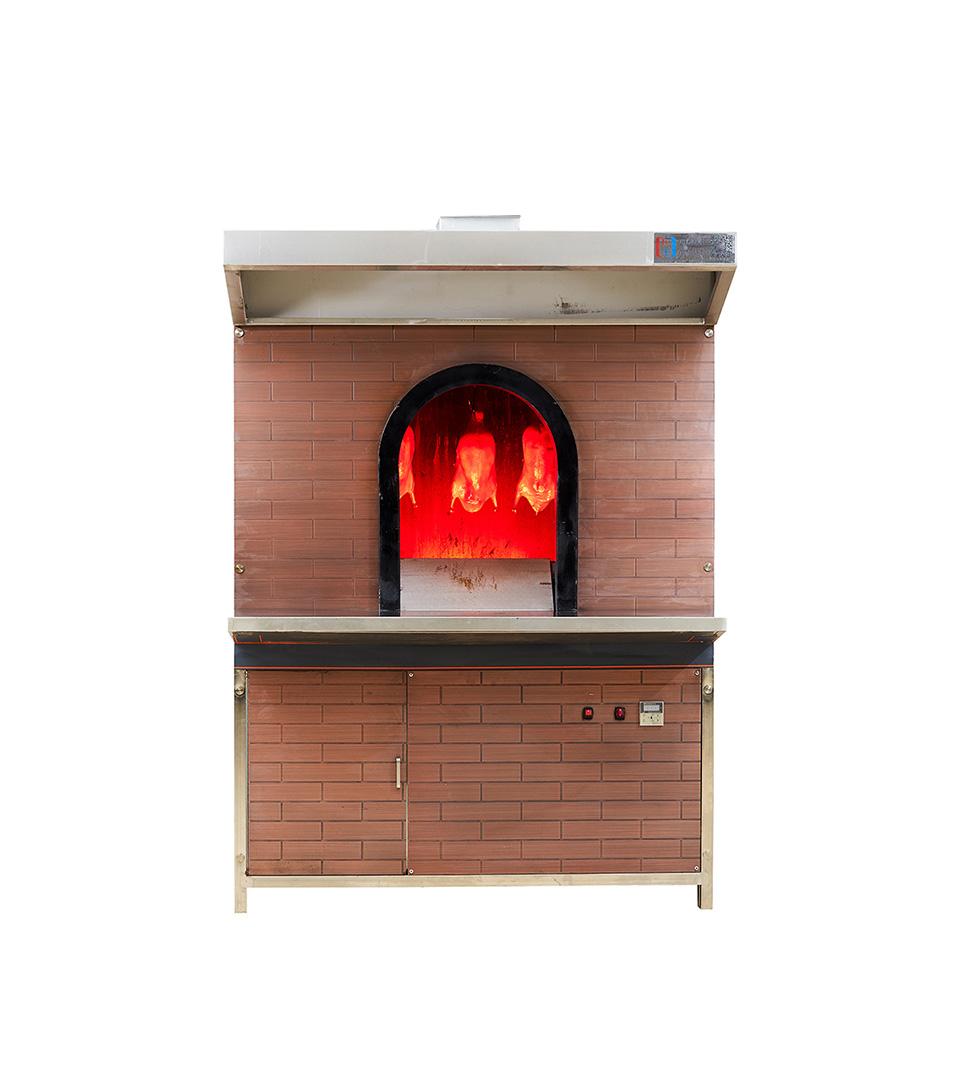 烤鸭炉仿古金属砖款